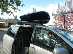 Thule Force Hard-shell Car Storage box.