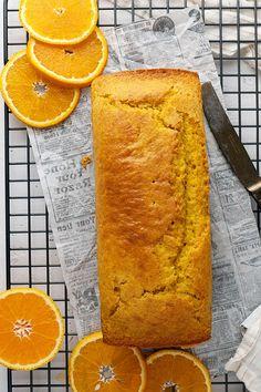 Super Easy Orange Cake Recipe | El Mundo Eats Fun Easy Recipes, Sweet Recipes, Orange Butter Cake Recipe, Whole Orange Cake, Orange Cakes, Blender Recipes, Fashion Cakes, Orange Recipes, Sweet Desserts