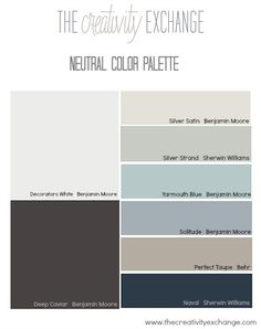 Tricks for how to zone in on your perfect paint color.  The Creativity Exchange #paintcolor