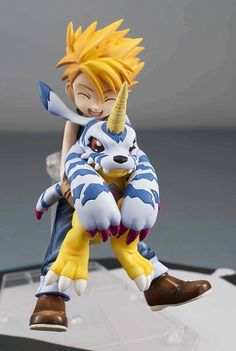 Aww so cute!!! I kinda want this Digimon figure now...I mean, just look at Gabumon lol