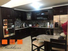 Mejores 37 imgenes de muebles de cocina con desayunador en mueble de cocina completo y personalizado desayunador con granito natural thecheapjerseys Images