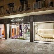 Acceso de flagship store de Balenciaga en París