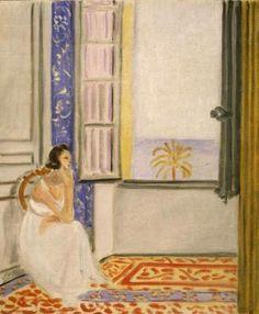 Henri Matisse - Woman by a Window (Femme près d'une fenêtre), c. 1920-1922