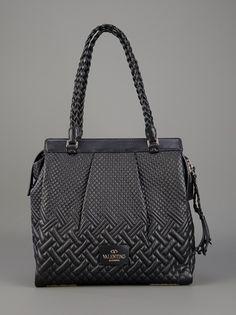 VALENTINO - Plaited Tote Bag