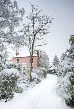 Beautiful Winter Scene in Hertford Heath