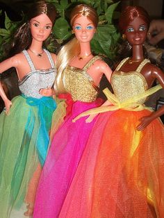 PJ & BARBIE  AND  CHRISTIE   FASHION PHOTO