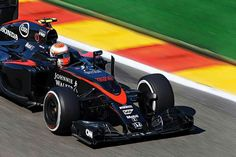 Jenson at Belgian F1
