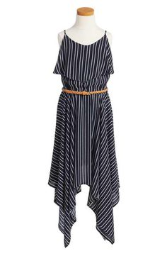 Bardot Junior Handkerchief Hem Dress (Big Girls)