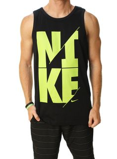 Nike Men's Nike Slash Slim Fit Sports Casual Tank Top