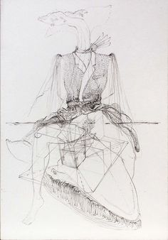 MATTHEW BARNEY DRAWING SHOW - INHALE MAG