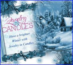 Winter weather doesn't have to keep you from shopping. Shop online 24/7 with Jewelry In Candles.