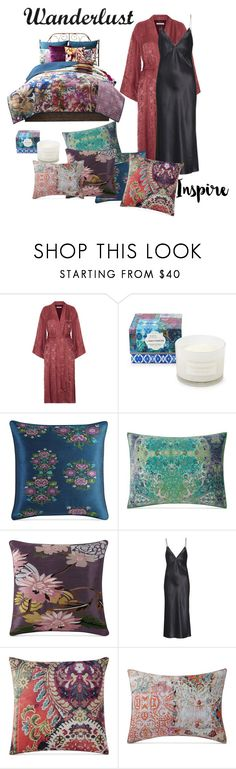 """Wanderlust dreams"" by chauert ❤ liked on Polyvore featuring interior, interiors, interior design, home, home decor, interior decorating, Elizabeth and James, Poetic Wanderlust, Olivia von Halle and wanderlust"