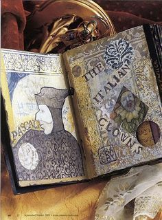 The Grunge Book: An Acrylic Art Journal by Anne Bagby Beginner Workshop by Anne Bagby - iCreateFlix.com