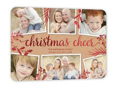 Crafted With Cheer 6x8 Stationery Card by Poppy Studio