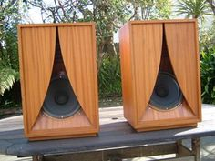 Karlson speaker cabinets fitted with Goodmans Axiom 10 drive units.