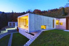 Raw and Elegant Casa Y is an Energy-Efficient Home Near Turin