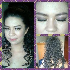 Peinado y maquillaje .Lisz Cp