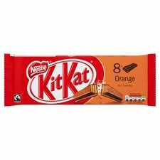 Nestle Kit Kat 2 Finger Orange 8 Pack