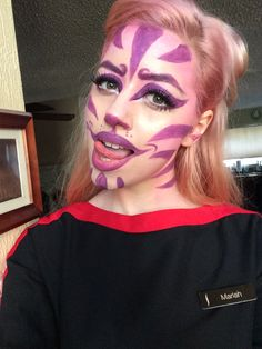 Halloween makeup: CHESHIRE CAT by MariahF. Tag your pics with #Halloween and #SephoraSelfie on Sephora's Beauty Board for a chance to be featured!
