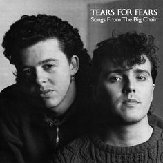 Purchase this original 1985 vinyl pressing of Songs From The Big Chair, the second album from new wave band Tears For Fears. Browse our selection of other rock albums on vinyl at Voluptuous Vinyl Records! Beatles, 80s Musik, Good Music, My Music, New Wave Music, Music Songs, Hello Music, Hit Songs, Dark Wave