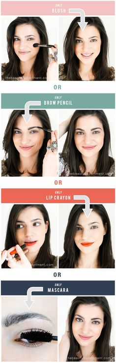 Have you ever been so busy that you only had time to do one makeup product? Or so lazy that you could barely bother with more than one? I thought it might be helpful to compare what a face would look like with only mascara on… or only lipstick, etc. Just to see which makes […]