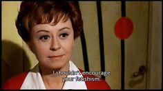 Juliet of the Spirits - Fellini.  https://www.youtube.com/watch?v=mTuzAARDZpk
