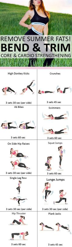 Core & Cardio Strengthening #weightloss #loseweight #weightlossworkout #coreworkout #cardioworkout #fatburning #exercise https://www.youtube.com/watch?v=Q96gA6-kRZk