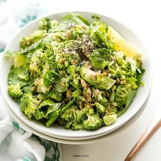 Apple Cider Vinegar & Greens Detox Salad Recipe
