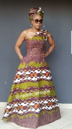 Learn About These Awesome traditional african fashion 9896 Shweshwe Dresses, African Maxi Dresses, African Wedding Dress, African Attire, African Wear, African Print Fashion, Africa Fashion, African Prints, African Traditional Dresses