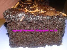 Cara membuat brownies kukus coklat yang lembut tanpa oven