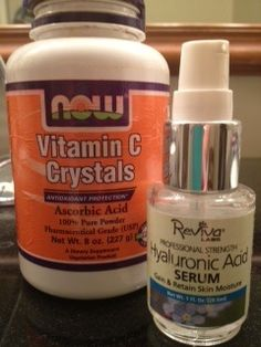 Best solution for my 50 year old face: 1) Mix Vitamin C/Ascorbic acid crystals in purified water and let it dissolve. Keep in cool place up to one week. Apply at night to face and neck. 2) Hyaluronic Acid Serum: Half a pump applied to face at night. It's the stuff they inject to make your skin plump.