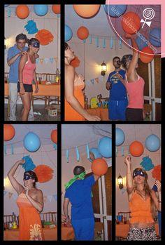 Celebraciones Caseras: juegos para animar una fiesta