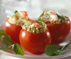 Tomates rellenos - Recetas frías y muy hidratantes - MSN Recetas