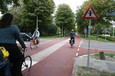 Cycleway (Heerhugowaard NL)