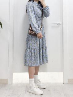 Gorgeous Clothes on work korean fashion 505 Muslim Fashion, Modest Fashion, Girl Fashion, Fashion Dresses, Long Skirt Fashion, Fashion Kids, Korean Fashion Trends, Asian Fashion, Latest Fashion For Women