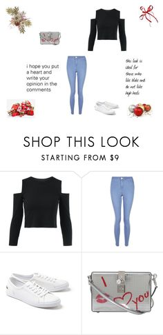 """""""Untitled #93"""" by ana-s-cunha on Polyvore featuring New Look, Lacoste and Dolce&Gabbana"""