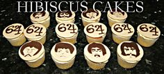 The fab 4, Beatles cupcakes