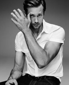 Alexander Skarsgard. Should have been Christian Grey...