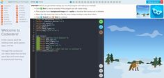 A great coding platform which allows teaching on the whole class level.