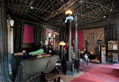 Villa museo di Gabriele D'Annunzio al Vittoriale di Gardone Riviera.