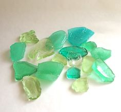 edible sea glass hard candy by andie's specialty sweets