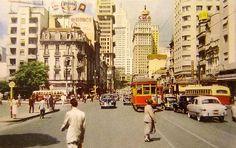 Sao Paolo by Cecilia Murgel Old Photos, Vintage Photos, Brazil Beaches, Vale Do Anhangabaú, Brazil Carnival, Sao Paulo Brazil, Brazil Travel, City Scene, My Town
