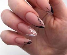 Edgy Nails, Chic Nails, Neutral Nails, Classy Nails, Stylish Nails, Simple Nails, Trendy Nails, Swag Nails, Beige Nail Art