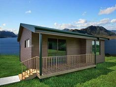 This Contemporary 264 Square Foot Prefab Home Designed By