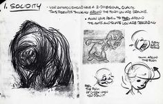 Glen Keane. Solidity. Form and volume.