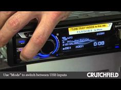 Crutchfield Labs Video: Sony Tune Tray car stereos, USB inputs, and iPhone 5 compatibility - YouTube