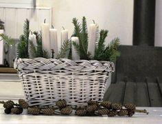 K Vánocům patří světlo, svíčkové světlo. Pravda, z tohohle by možná bylo světla ještě víc, kdyby se zapálil...