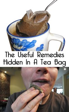Did you ever think that old tea bags' place is not in the trash? After preparing our tea most of us discard the soggy tea bag! Maybe you have to reconsider your attitude, because old tea bags can be used in many ways in and around your home.