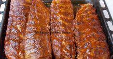 Scaricica(coaste) de porc la cuptor Meatloaf, Bacon, Good Food, Food And Drink, Pork, Cooking, Breakfast, Dinner, Food Porn