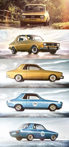 2015 update of the 2 door version of the Renault 12 / Dacia 1300 - Autos 2019 Dacia Logan, Hyundai Cars, Suzuki Swift, Diesel Cars, Best Luxury Cars, Small Cars, Vintage Racing, Hot Cars, Cars And Motorcycles
